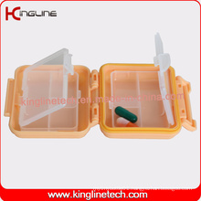 Plastic 6-Cases Pill Box (KL-9102)